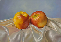 &quot;Two Apples in Satin&quot; 
